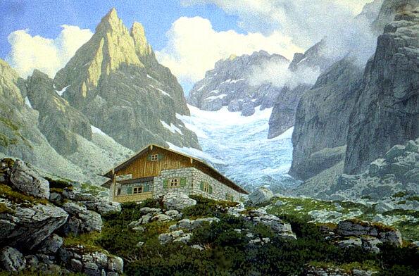 Blaueishütte Hochkalter