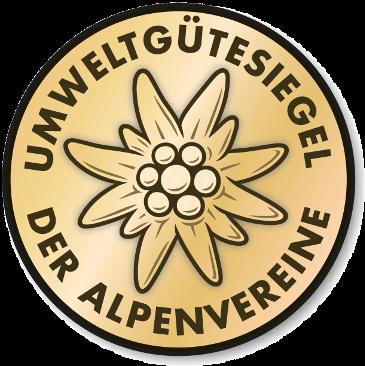 Alpenverein: Umweltgütesiegel